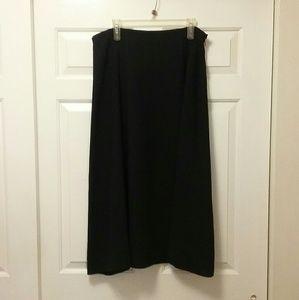 Evan-Picone Deep Navy Long Skirt Size 16